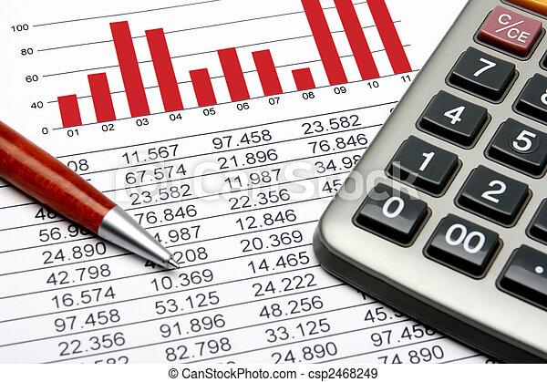 Finance Statistic - csp2468249