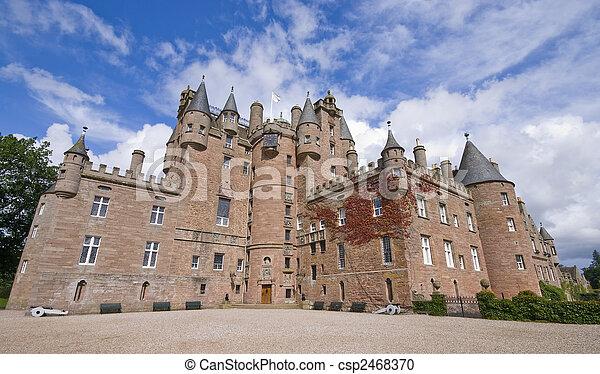 castelo, Escócia,  glamis - csp2468370