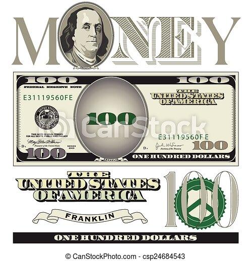 Dollar bill Illustrations and Clip Art. 20,687 Dollar bill royalty ...