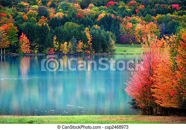 Scenic Autumn landscape - csp2468973
