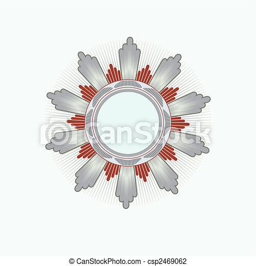 Insignia -  star shaped - csp2469062