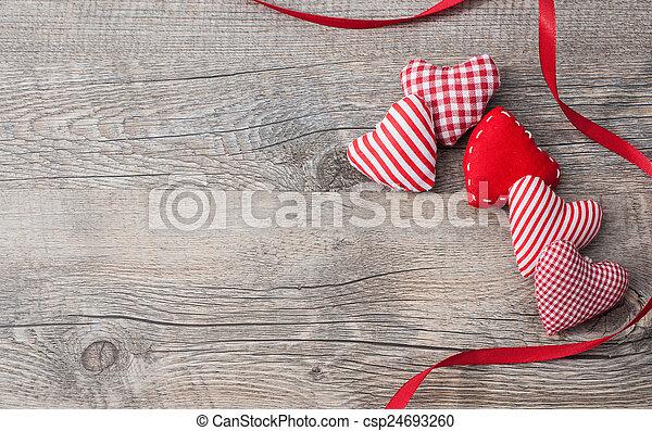 valentines, Dia, fundo - csp24693260