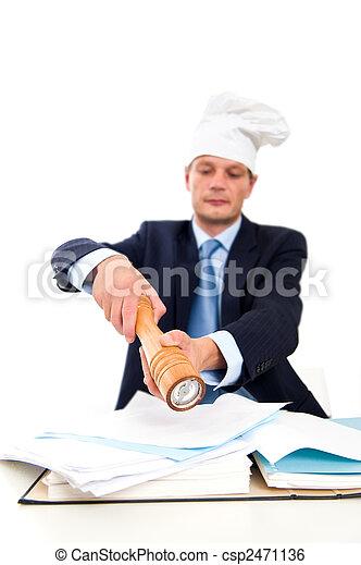Spicing up paperwork - csp2471136