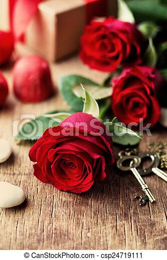 valentines, Dia - csp24719111