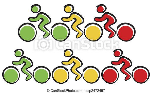 Bicycles - csp2472497