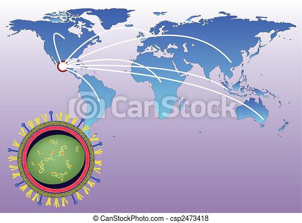 Pandemic of H1N1 - csp2473418