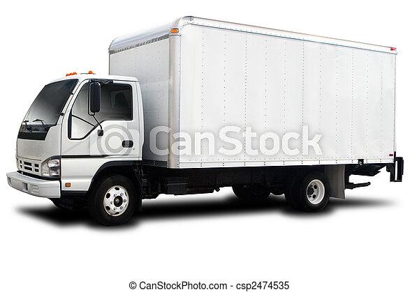 配達トラック - csp2474535