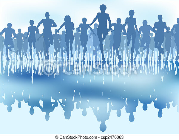 Reflected runners - csp2476063
