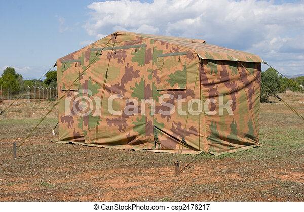 Military Tent - csp2476217