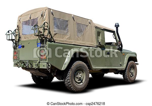Military Vehicle - csp2476218