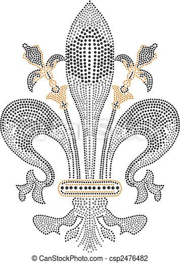 Royalty Element - csp2476482