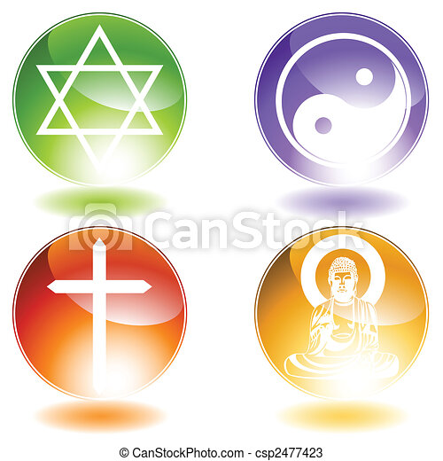 Religion Set - csp2477423
