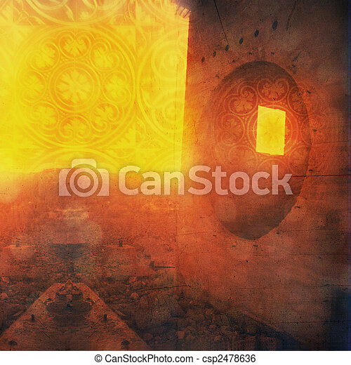 Visionary Ruin - csp2478636