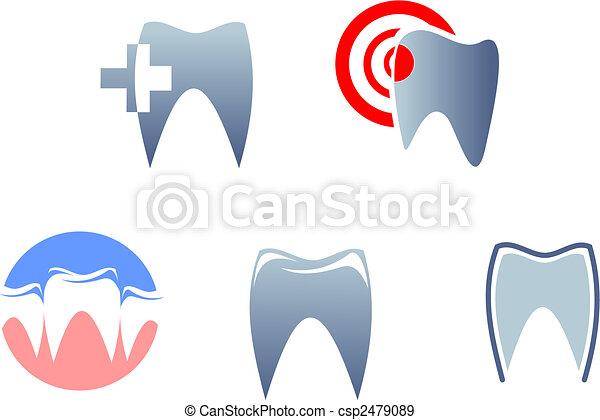 Dental signs - csp2479089
