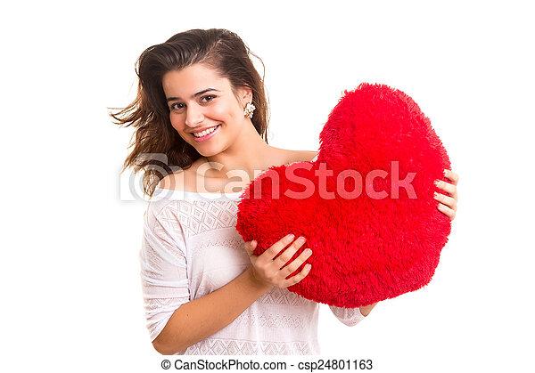 Valentines day concept - csp24801163