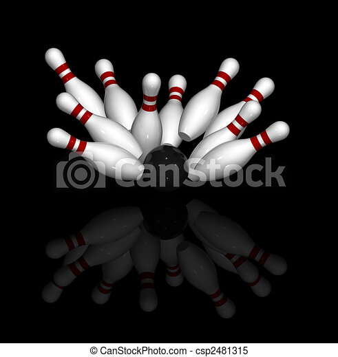 Bowling strike Illustrations and Clipart. 4,710 Bowling strike ...