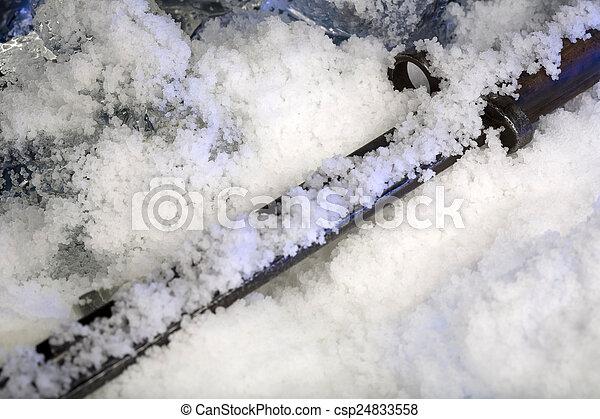 Frozen old sticker - csp24833558