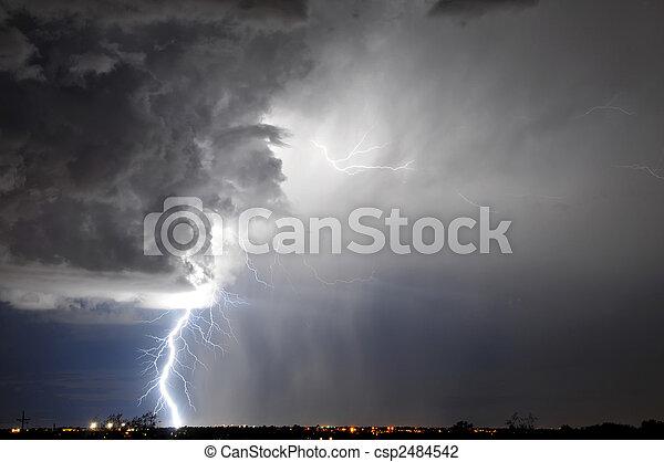 Tucson Lightning - csp2484542