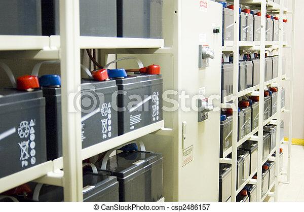 Uninterruptible Power Supply (UPS) Batteries - csp2486157