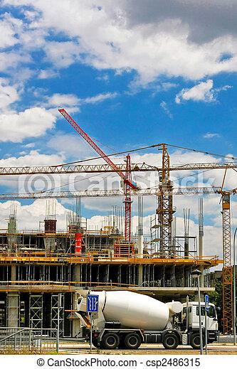Concrete mixer - csp2486315