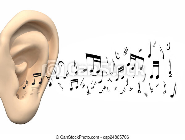 how to tell notes by ear