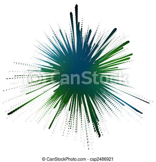 Ink splot - csp2486921