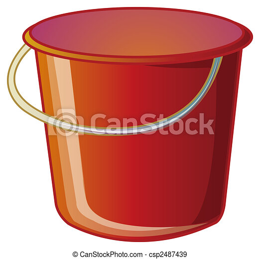 Bucket Clipart And Stock Illustrations Bucket Vector Eps