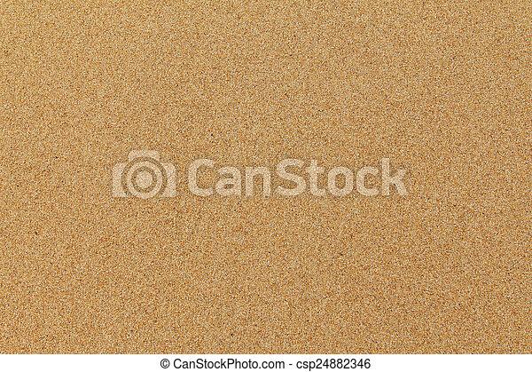 Sand beach - csp24882346