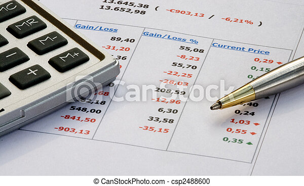 Home finances - csp2488600