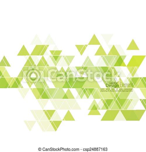 矢量-创造性, 摘要, 三角形