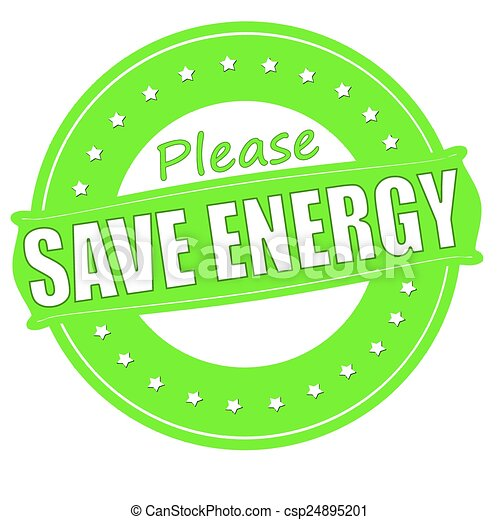 Clipart Energy Saving Save Energy Csp24895201