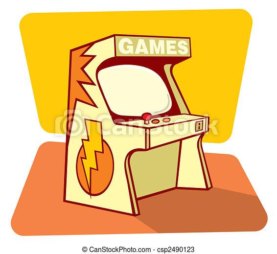 Retro games console - csp2490123