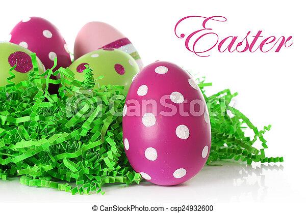 イースター, 卵 - csp24932600