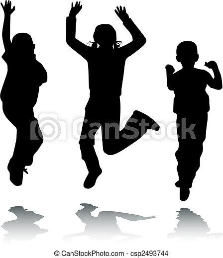 Children jump - csp2493744