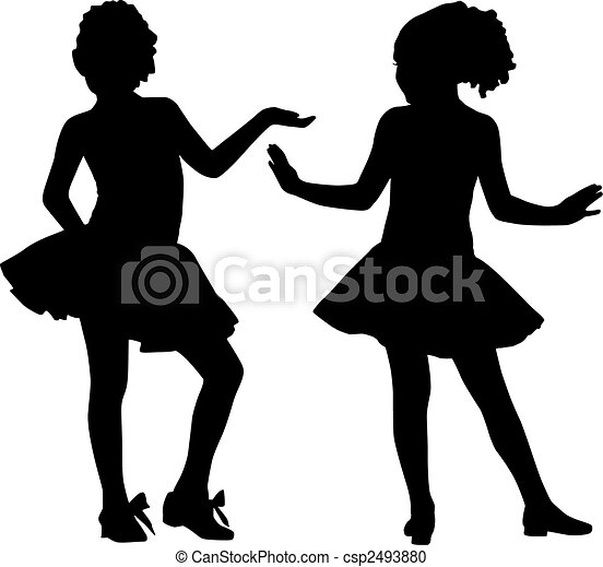 Silhouette small friends - csp2493880