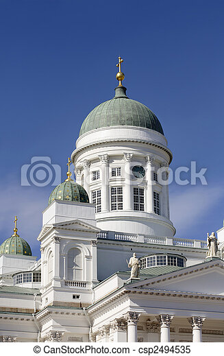 Helsinki Cathedral - csp2494535