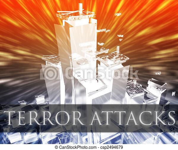 Terror attack - csp2494679