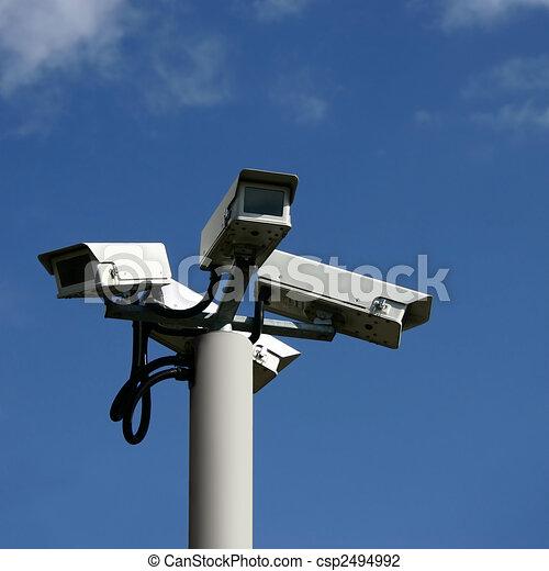 Security Cameras - csp2494992