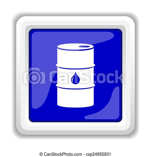 Oil Barrel Drawing Oil Barrel Icon Csp24955931