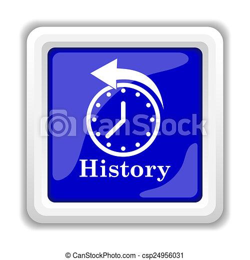 History Button Clip Art