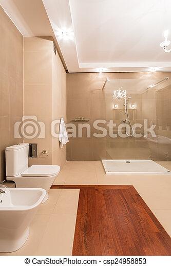 stock bilder von badezimmer inneneinrichtung elegant stil luxus hell csp24958853. Black Bedroom Furniture Sets. Home Design Ideas
