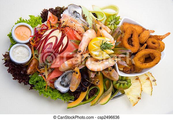 Seafood platter  - csp2496636