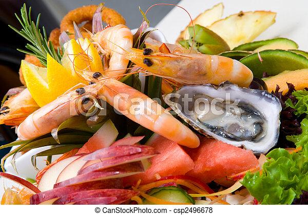 Seafood platter  - csp2496678