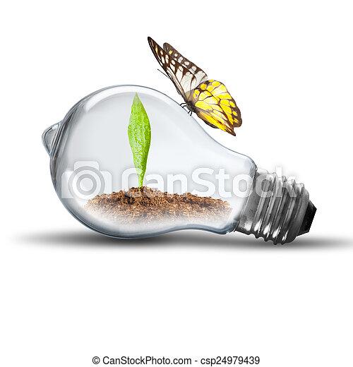 Light Bulb - csp24979439