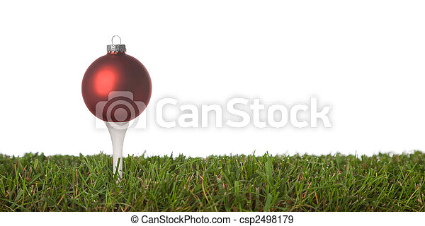 golf ornament - csp2498179