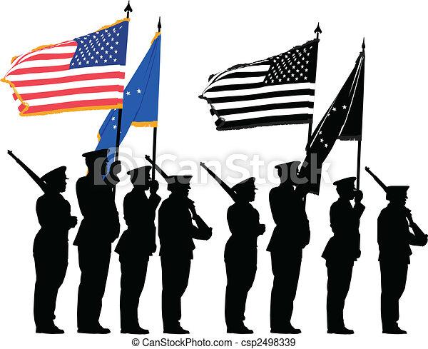 Honor guard - csp2498339
