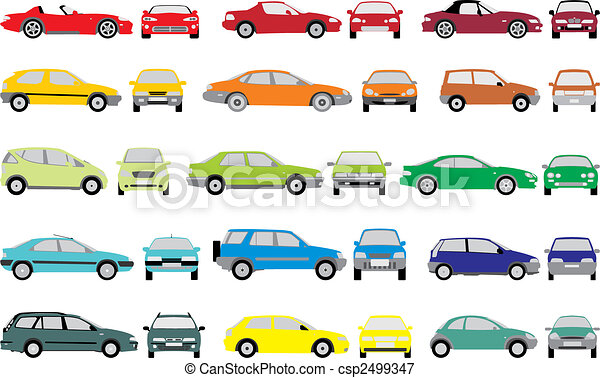 Color cars - csp2499347