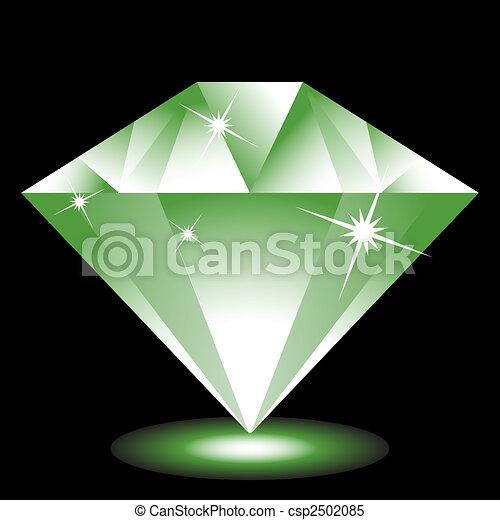 Emerald Jewel - csp2502085