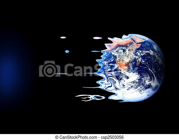 A violent death of earth - csp2503056