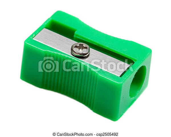 Photo of one pencil-sharpener - csp2505492